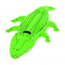 Krokodyl nadmuchiwany 203x117cm z uchwytem,41011