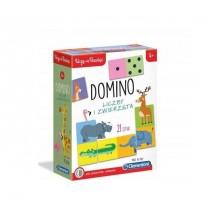 DOMINO LICZBY I ZWIERZĘTA CLEMETONI 50083