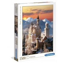 PUZZLE 1500 NEUSCHWANSTEIN CLEMENTONI 31925
