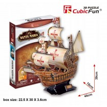 PUZZLE 3D ŻAGOWIEC SANTA MARI 40080