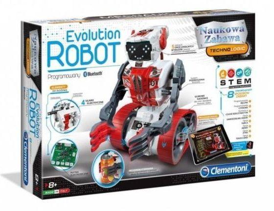 EVOLUTION ROBOT PROGRAMOWANY BLUETOOTH CLEMENTONI